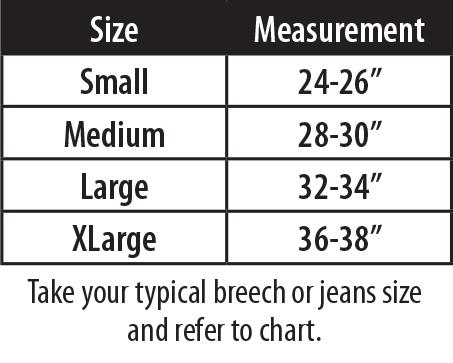 Bra Size Chart Activation Steps