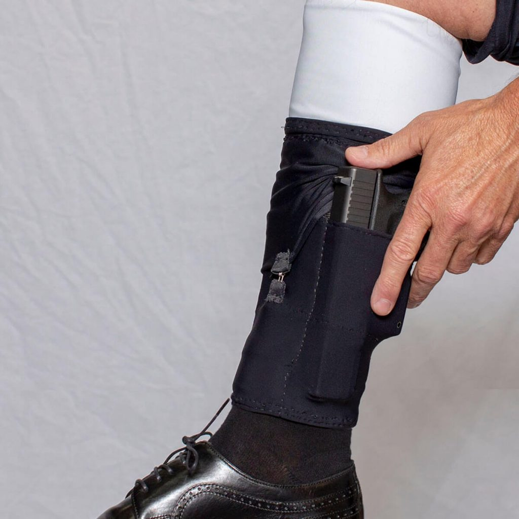 470743_Cheata Tactical_Ankle Gun Sox_Men dress shoe_inside holster carry