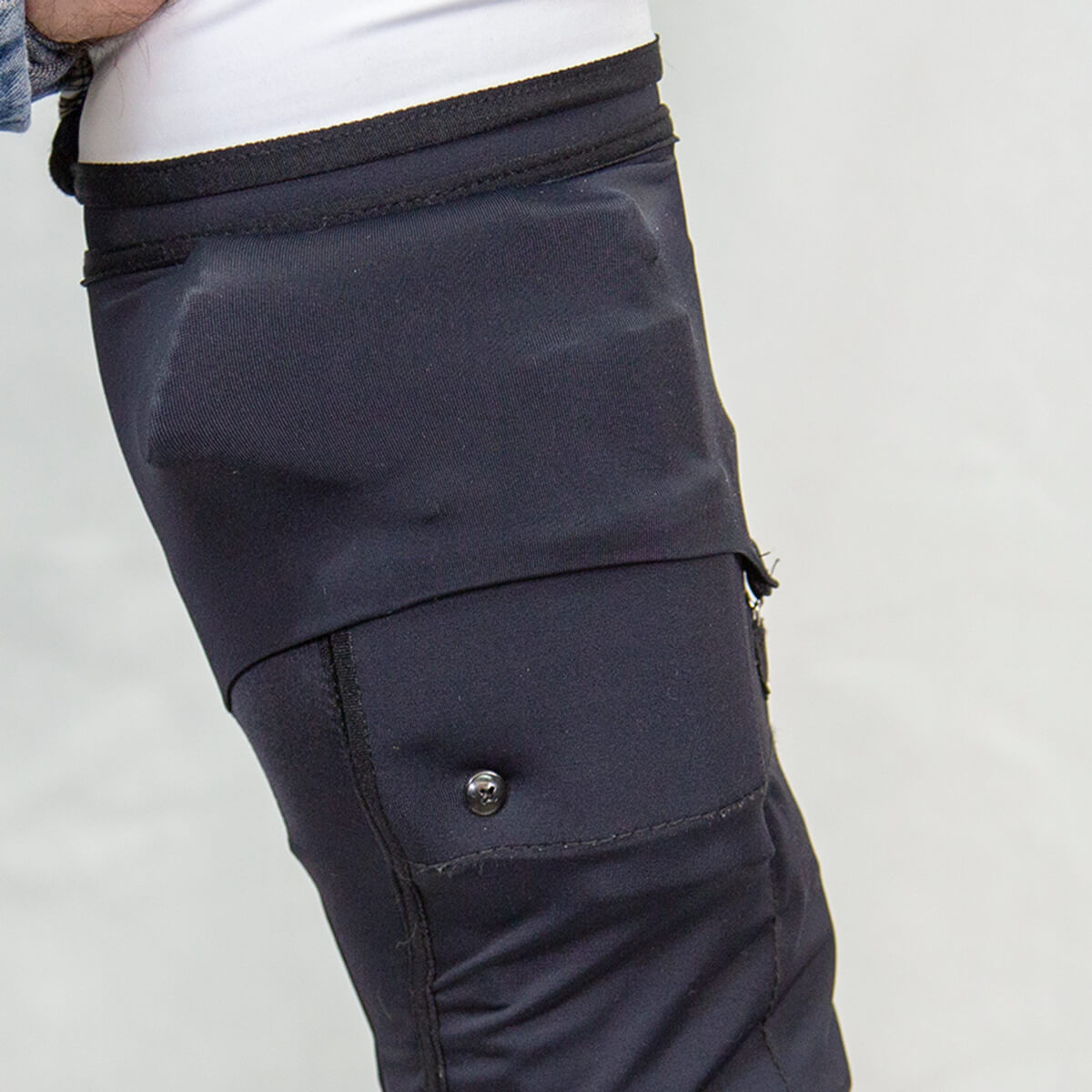 470744_Mid-Calf-Gun-Sox-Pro_Retention-Flap-covering_Side-view_8652